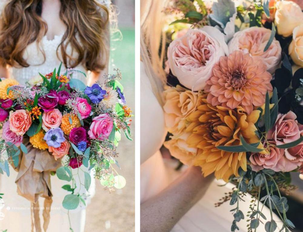 Ideas para ramos de novia…