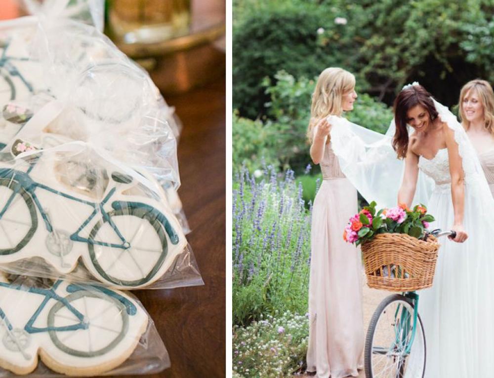 Ideas para bodas… ¡bodas a dos ruedas!