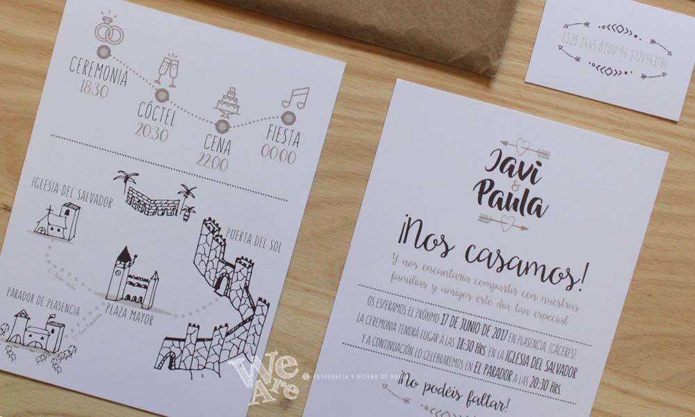 Invitaciones Para Matrimonio Rustico : Invitaciones de boda diferentes we are