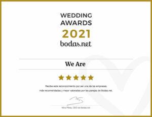 We Are Wedding Awards 2021