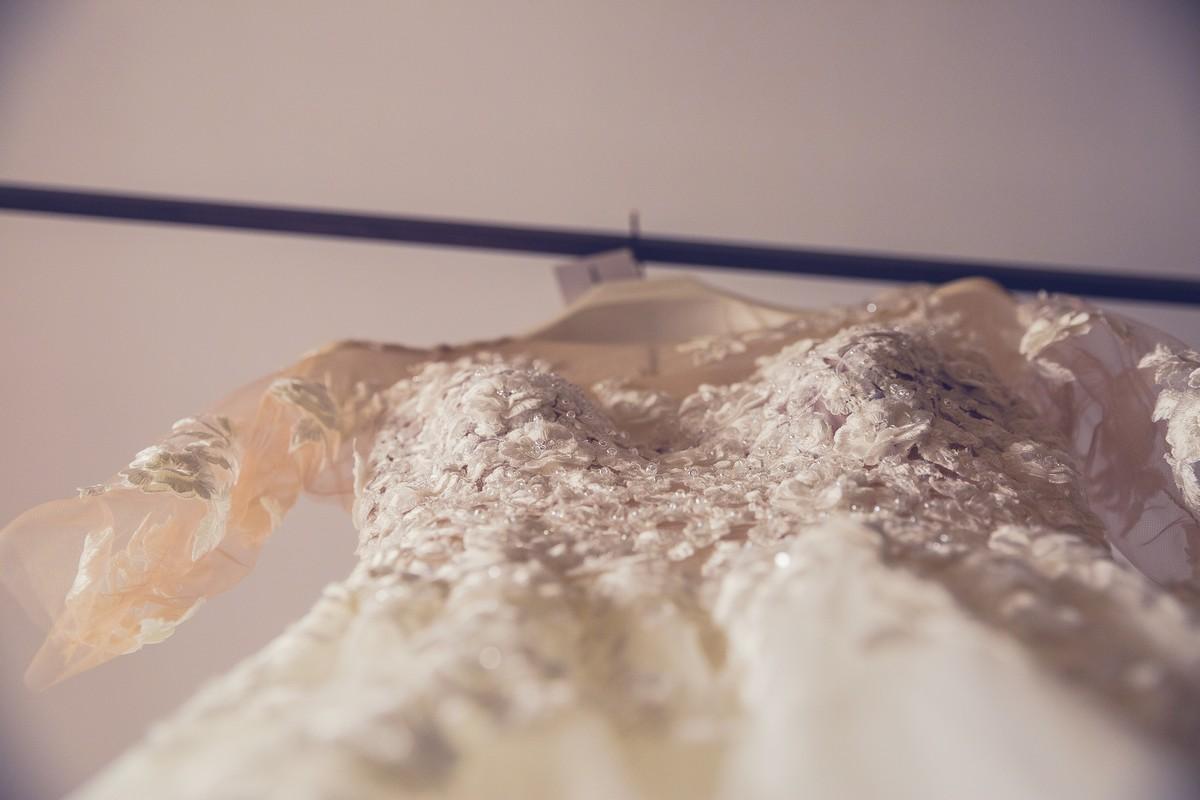 detalle vestido novia, fotografía de boda