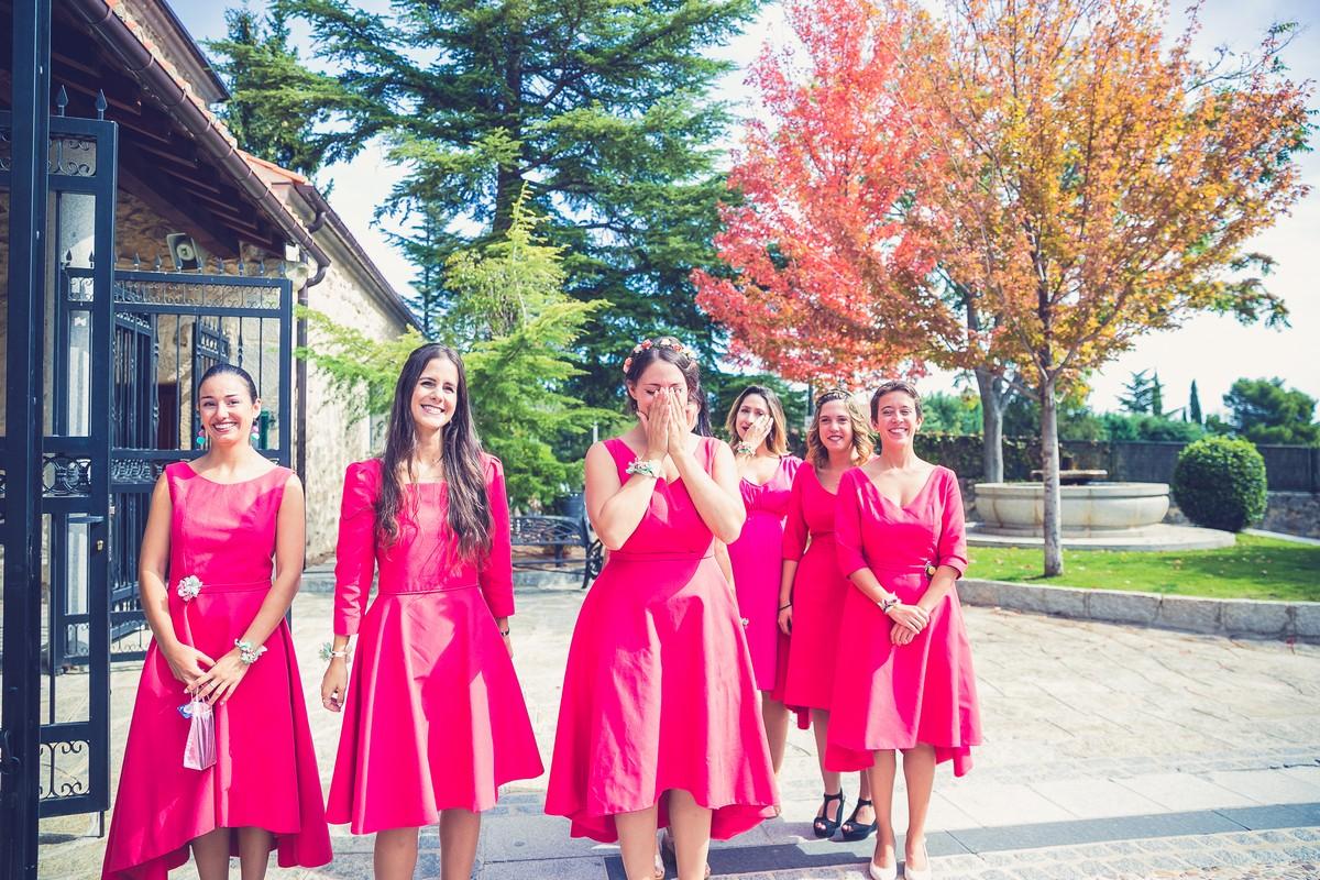 damas de honor boda, fotografos de boda, madrid